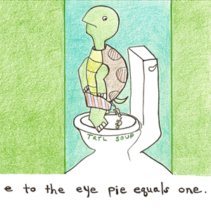E to the Eye Pie Equals One