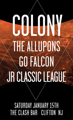 Colony's Record Release Show